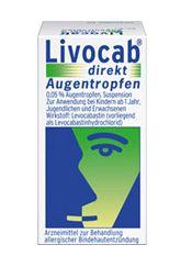 Livocab direkt Augentropfen 4ml