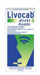 Livocab Direkt Kombi 4ml Augentropfen und 5ml Nasenspray