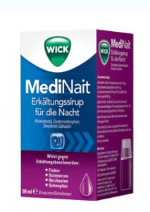 Wick MediNait  90 ml Saft