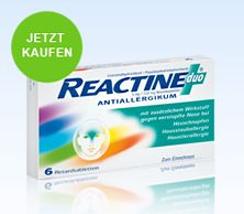 Reactine Duo 6 Retardtabletten