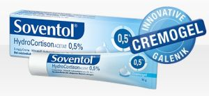 Soventol HydrocortisonACETAT 0.5% 15g Cremogel