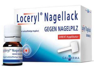 Loceryl Nagellack gegen Nagelpilz mit Direkt Applikator 3ml