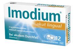 Imodium akut lingual 12 Täfelchen