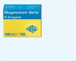 Magnesium Verla N 100 Dragées