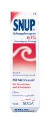 Snup Schnupfenspray 0,1 % Dosierspray 10ml