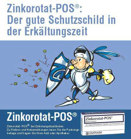 Zinkorotat-POS®  50 Tabletten